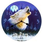 clock-howling-wolf