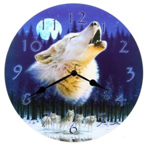 clock-howling-wolf